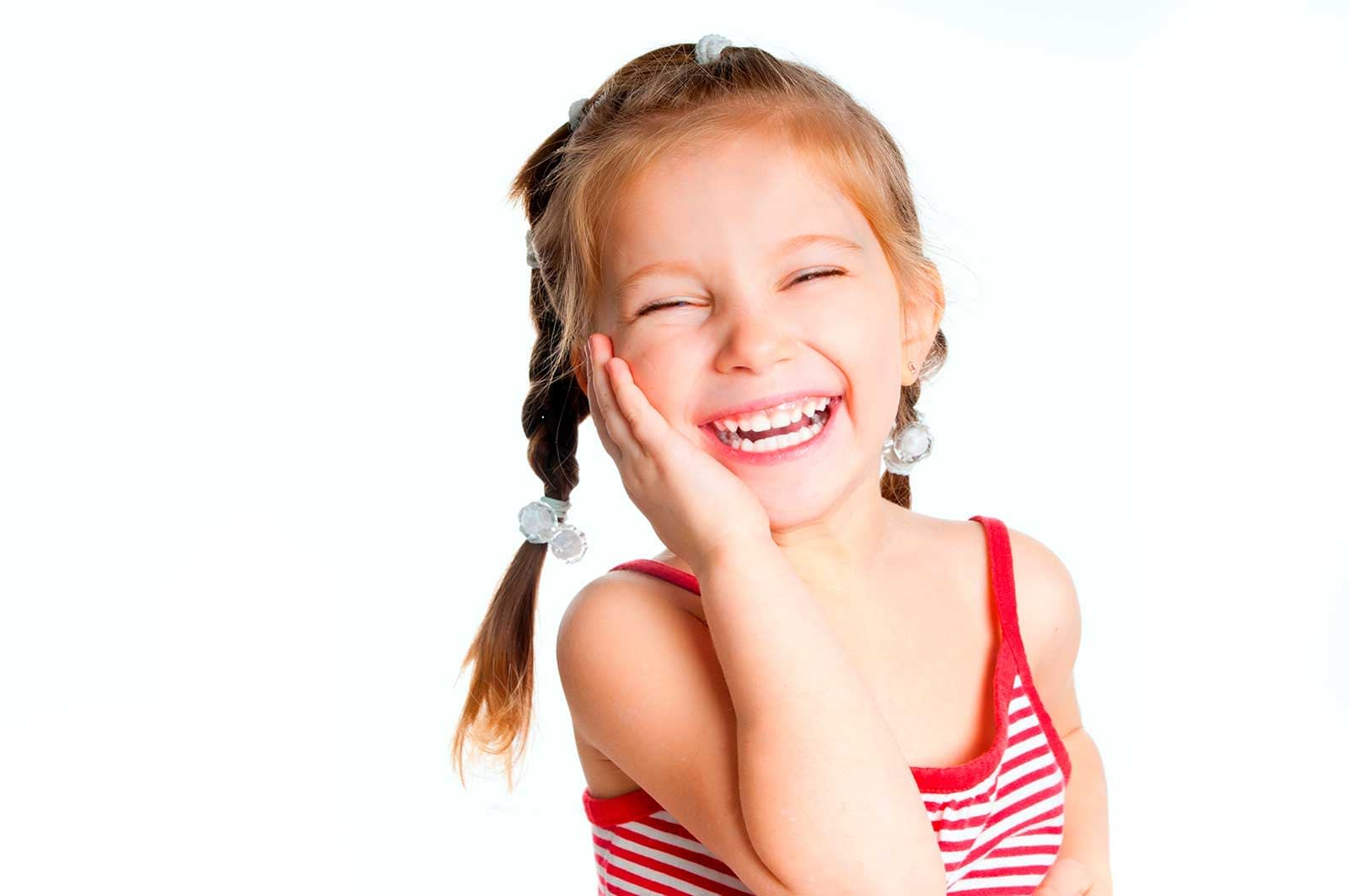Segredos do sorriso de uma criança